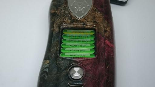 DSC 3107 thumb%255B2%255D - 【MOD】VICIOUS ANT 「KNIGHT STABWOOD #084(SX550J)」レビュー。YiHiハイエンドチップを搭載したスタビMOD!カラー液晶&Bluetooth【高級/スタビライズドウッド/電子タバコ/VAPE/フィリピン製】