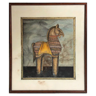 Stylized Equine Painting