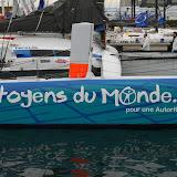 Bassin Vauban : concurrent Route du Rhum, voilier Citoyens du Monde