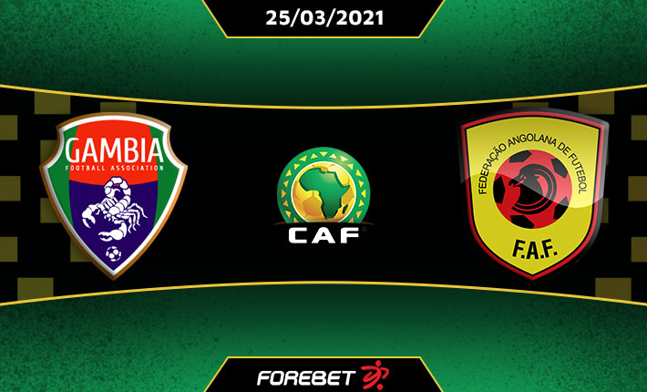 Gambia vs Angola Live stream Online, 2022 Africa Cup of Nations Qualifiers