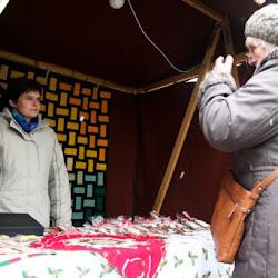 Vánoční jarmark pod hluckou tvrzí 2012