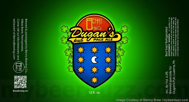 Benny Brew - Dugan's Pub Pale Ale Coming To Cans