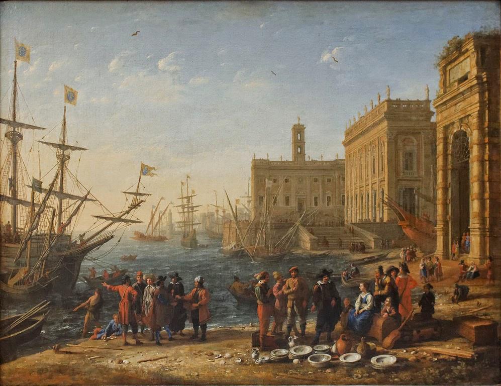 Claude Lorrain - Port with Capitol