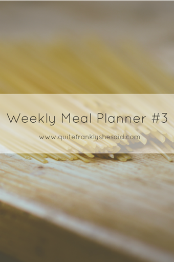 weekly meal planner 3 pinterest
