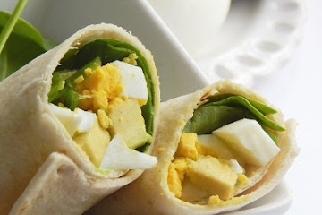 Avocado Egg Wrap