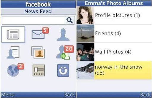 Download facebook for every phone java 2me