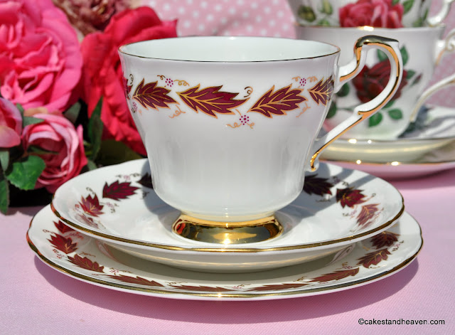 Paragon Elegance Vintage China Teacup Trio