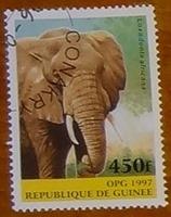 timbre Guinée 001