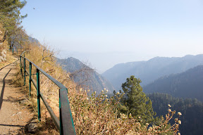 View of the valley from Donga Gali pipeline trek, Galiyat