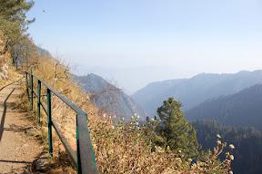 View of the valley from Donga Gali pipeline trek, Galiyat