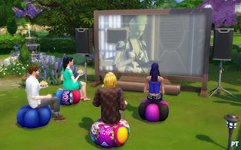 De Sims 4 Filmavond Accessoires Review
