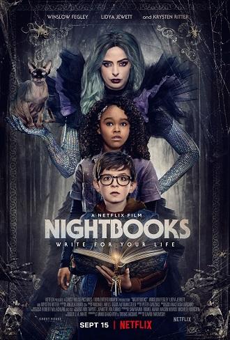 Download Nightbooks (2021) Full Hindi Dual Audio Movie Download 720p [1GB] WebRip Free Watch Online Katmoviehd wordfree4u