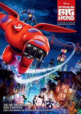 Filme Poster Operação Big Hero CAM XviD & RMVB Dublado