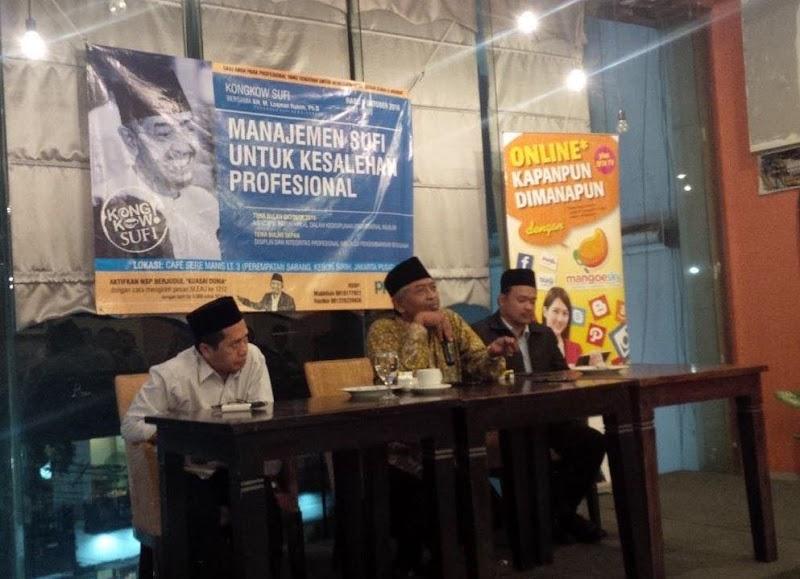 Kongkow Sufi #1: Rezeki Halal melalui Kedisiplinan Profesional Muslim