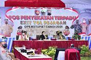 Kapolri dan Panglima Tinjau Pelaksanaan Operasi Ketupat Maung 2021 di Merak