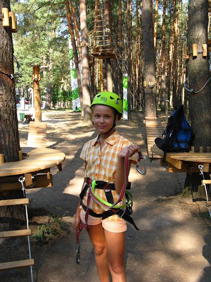 Чердачок: Веревочный парк. Трасса №1 - подготовка