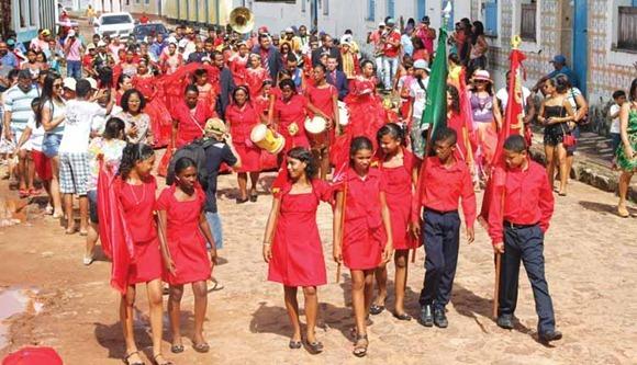 Festa do divino Espirito Santo - Alcantara, Maranhao