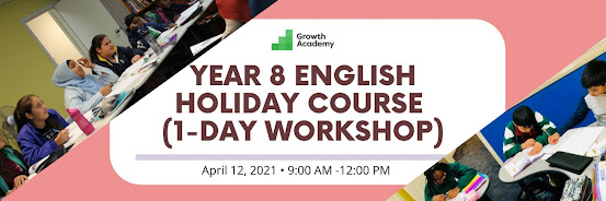 Year 8 English Holiday Course (1-day workshop)