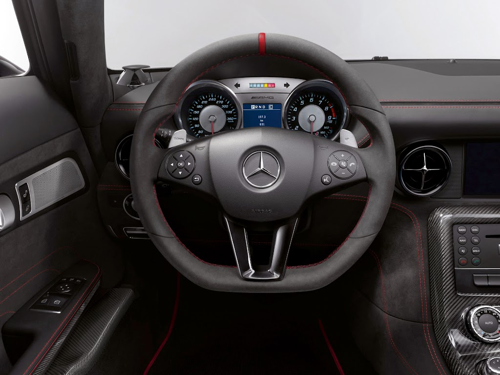 2014 Mercedes-Benz SLS AMG Black Series Interior 3