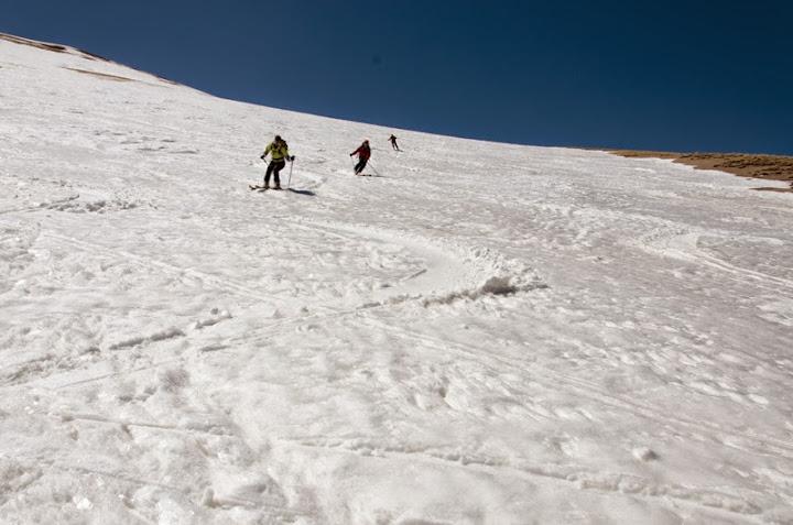 1200 metrii diferenta de nivel skiati au trecut mult prea repede