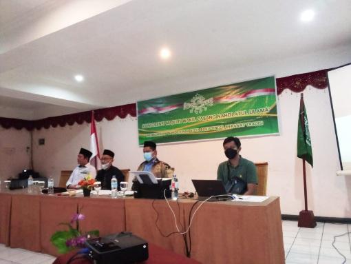 MWCNU MKS Bukittinggi Pilih Haji Zainul Akbar Rais Syuriah,  Agustawathoni Ketua Tanfidziah Masa Khidmat 2021- 2026