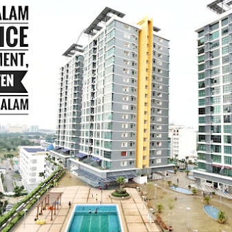 FULLY FURNISHED Vista Alam Service Apartment @ Seksyen 14 FOR Sale .  + Nice place to stay due to its...