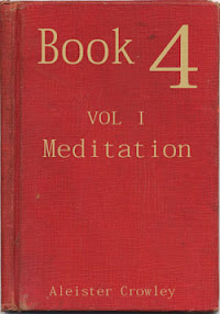 Cover of Aleister Crowley's Book Book 4 Part I Meditation