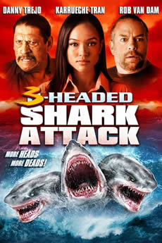 Baixar Filme O Ataque do Tubarão de 3 Cabeças (2015) Dublado Torrent Grátis