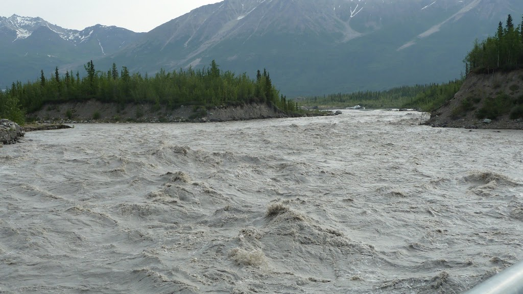 kennicott river after jökulhlaup