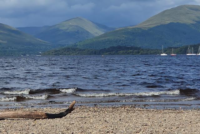 Loch Lomond, a view from Milarrochy Bay