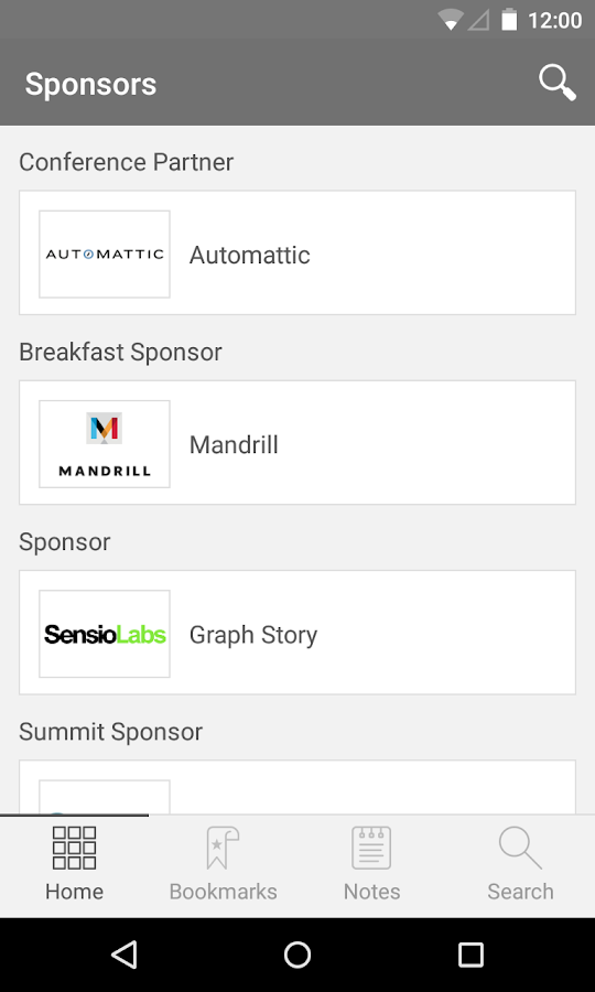 php[tek] 2015 Conference - screenshot