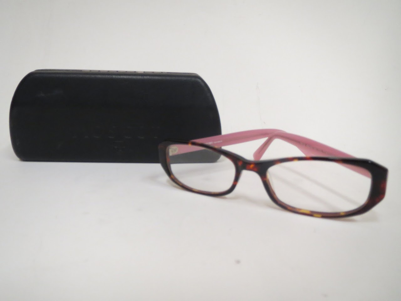 Moscot Pink and Tortoiseshell Readers