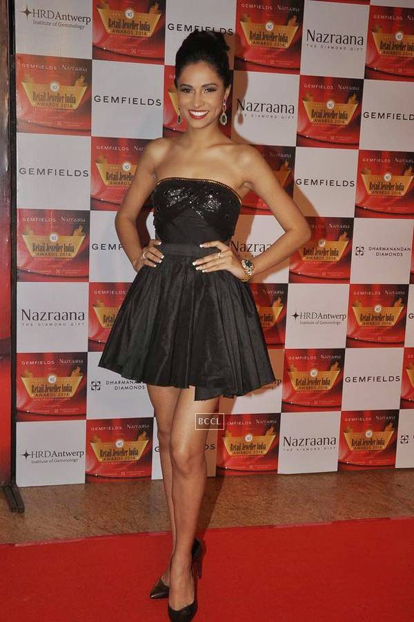 Gurleen Grewal during the 10th Annual Gemfields and Nazraana Retail Jeweller India Awards, 2014, in Mumbai, on July 19, 2014. (Pic: Viral Bhayani)