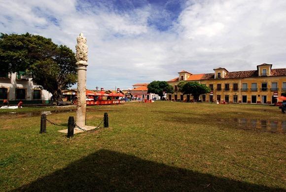 Praça da Matriz - Alcantara, Maranhao