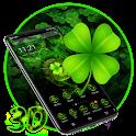 Lucky Clover 3D Launcher Theme 🍀 icon