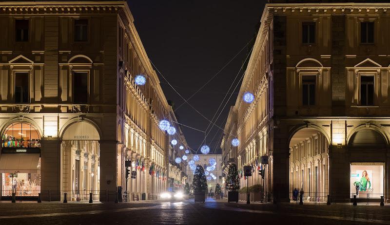 Luci d'Artista a Torino. di Mauro Rossi