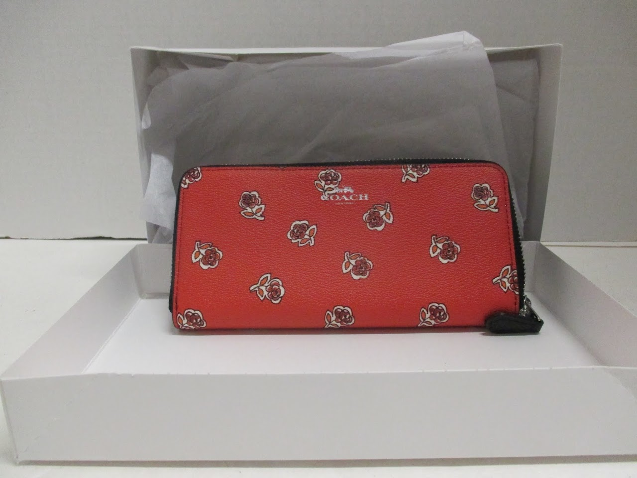 Coach 'Roses' Wallet 2