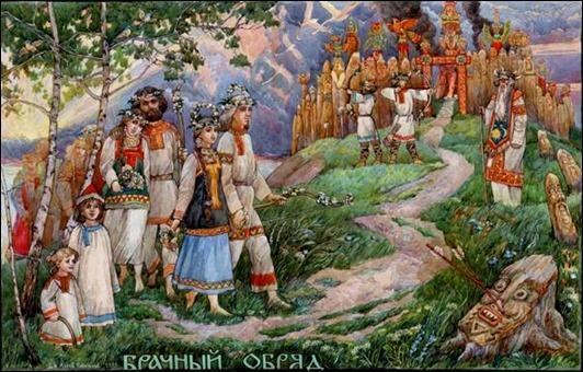 Летописец Нестор оставил свидетельства того, что нравы и обычаи древних  славян разнились от племени к племени. Так, поляне отличались кротким и  тихим нравом ... 4e53922e3ba