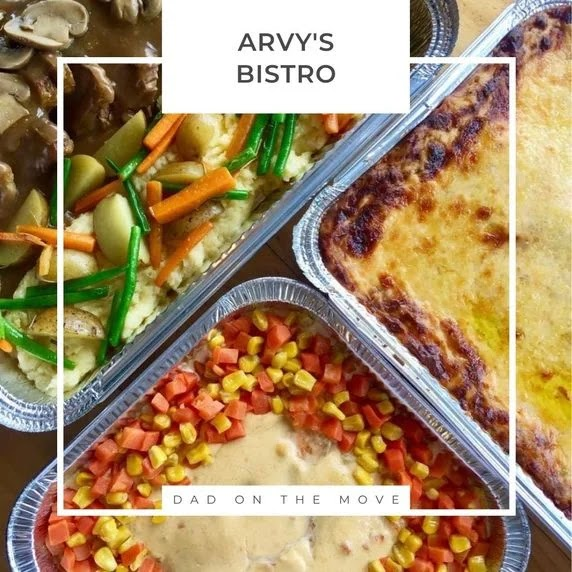 Arvy's Bistro food trays review