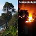 Kebakaran Hebat Hingga Terdengar Ledakan di Palabuhanratu, 10 Damkar diturunkan, Api Berhasil Dijinakkan Selama 10 Jam