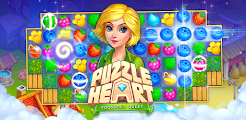 Puzzle Heart game logo