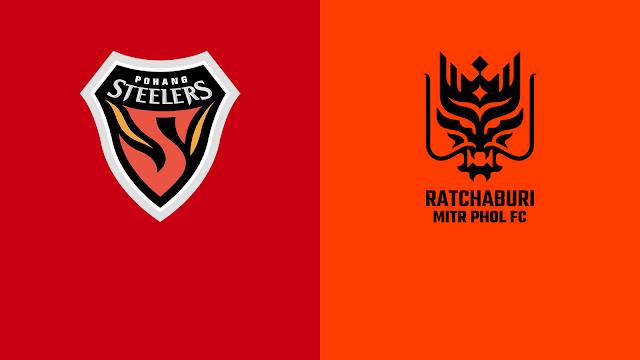 Live Streaming Pohang Steelers vs Ratchaburi 22 June 2021.
