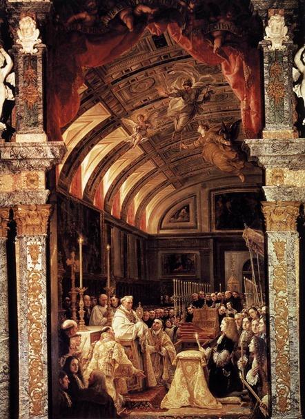 Claudio Coello La Adoración de la Sagrada Forma