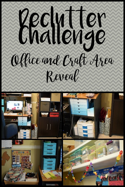 Office and Craft Area Reveal