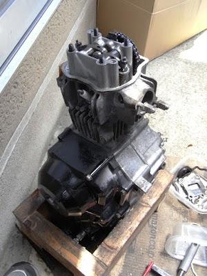 カブ50エンジン分解