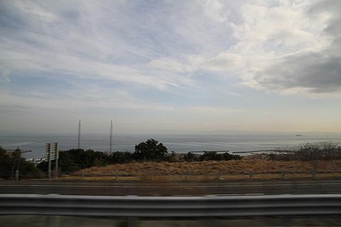 伊予鉄道「ハーバーライナー」 からの車窓 その2 淡路島