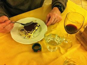 Un dessert à La Barme