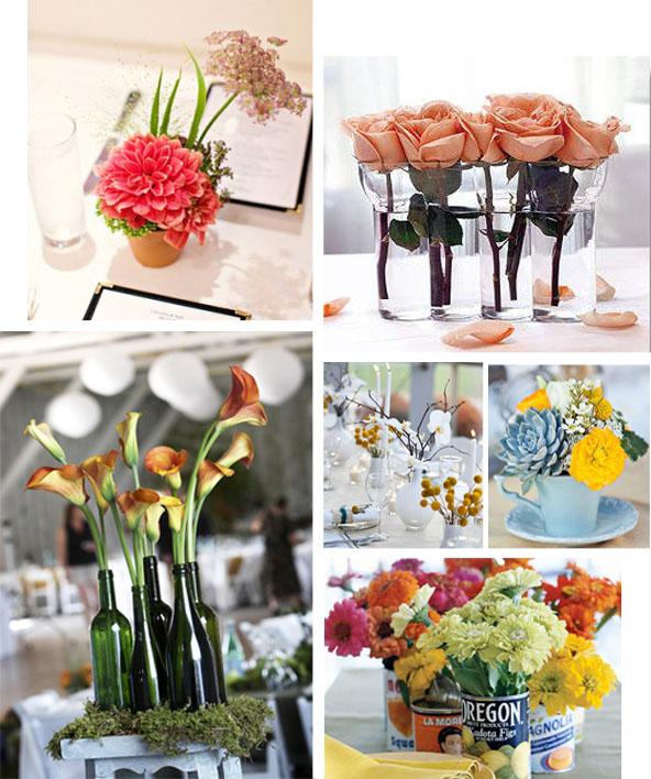 A deco inspiracion exterior wedding decor - Centros de mesa con limones ...