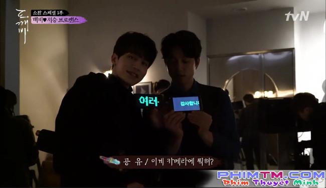 """""""Goblin"""" tập đặc biệt: Gong Yoo còn """"tình cảm"""" với Lee Dong Wook hơn cả Kim Go Eun! - Ảnh 4."""