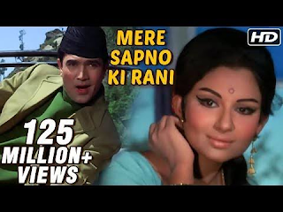 Mere Sapno Ki Rani song lyrics from Aradhana